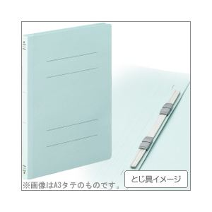 (業務用セット) コクヨ フラットファイル(紙表紙) パック売 B5タテ・ブルー 【×5セット】