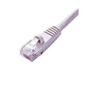 (業務用セット) グリーンハウス LANケーブル 3m アイボリー 【×5セット】 h01
