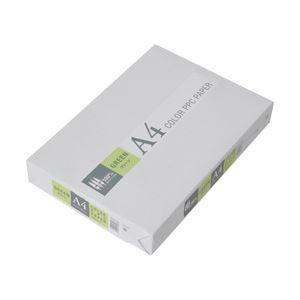(業務用セット) APPJ カラーペーパー グリーン A4冊 500枚 型番:CPG001 【×5セット】