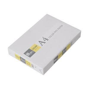 (業務用セット) APPJ カラーペーパー クリーム A4冊 500枚 型番:CPY001 【×5セット】 h01