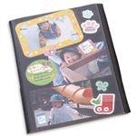 (業務用セット) デジタルフリーアルバム(A4サイズ) 替台紙 【×5セット】