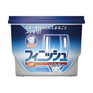 (業務用セット) アース製薬 フィニッシュ パウダーボックス 1箱(600g) 型番EC-EX 【×5セット】