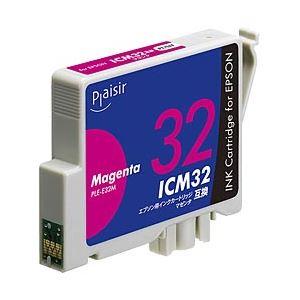 (業務用セット) エプソン(EPSON) インクカートリッジ マゼンタ 汎用 ICM32対応 単位:1個 【×5セット】 h01