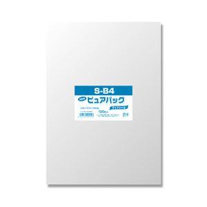 (業務用セット) NEWピュアパック 100枚入S-B4 38cmx27cm 【×5セット】