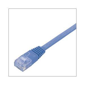 (業務用セット) エレコム(ELECOM) Gフラットケーブル 5m LD-GF/BU5 【×3セット】 h01