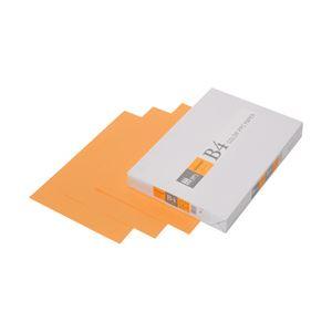 (業務用セット) APPJ カラーペーパー オレンジ B4冊 500枚 型番:CPO003 【×3セット】 h01
