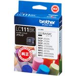 (業務用セット) ブラザー インクカートリッジ ブラック 1個 型番:LC111BK 【×3セット】の写真