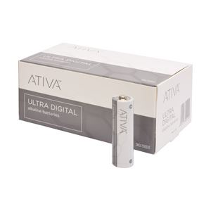 (業務用セット)ATIVA単3形アルカリ乾電池1箱(40本入)【×3セット】
