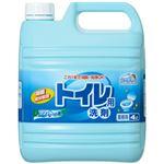 (業務用セット) ミツエイ スマイルチョイス トイレ用洗剤業務用 4L 1本 【×3セット】