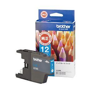 (業務用セット) ブラザー インクカートリッジ 色:シアン 型番:LC12C 単位:1個 【×3セット】 h01