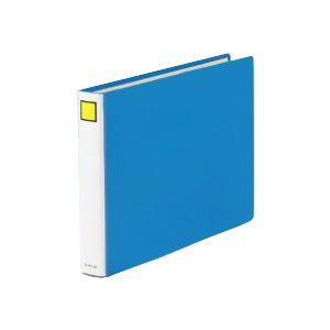 (業務用セット) キングファイル スーパードッチ(脱着イージー)(B4ヨコ・2穴) とじ厚:6cm ブルー 2496EAアオ 【×3セット】