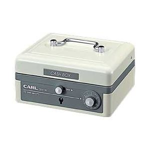 (業務用セット) カール キャッシュボックス 小 ホワイト 【×3セット】