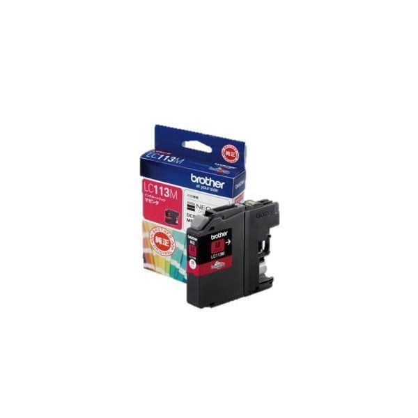 (業務用セット) ブラザー インクカートリッジ マゼンタ 1個 型番:LC113M 【×3セット】f00