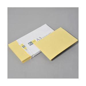 (業務用セット) APPJ カラーペーパー クリーム A3冊 500枚 型番:CPY002 【×3セット】 h01
