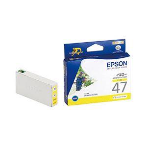 (業務用セット) エプソン(EPSON) インクカートリッジ イエロー 型番:ICY47 単位:1個 【×3セット】 h01