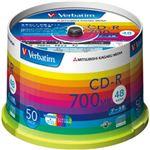 (業務用セット) 三菱 大容量ケース入 CD-R 50枚 型番:SR80SP50V1 【×3セット】