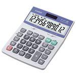 (業務用セット) カシオ(CASIO) 中型電卓 12桁 縦17.5×横12.6×厚さ3.5cm DH-12VT-N 1個 【×3セット】