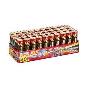 (業務用セット)日立マクセルアルカリ乾電池ボルテージ単3形1パック(40本)【×2セット】