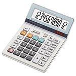 (業務用セット) シャープ 卓上大型電卓 12桁 縦19.7×横14.0×厚さ2.7cm EL-S752K-X 1個 【×2セット】