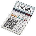 (業務用セット) シャープ 中型電卓 12桁 縦18.5×横11.2×厚さ2.6cm EL-N732-X 1個 【×2セット】
