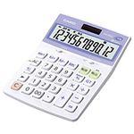 (業務用セット) カシオ(CASIO) 抗菌電卓 12桁 縦17.5×横12.6×厚さ3.5cm DW-122CL-N 1個 【×2セット】