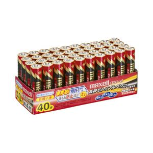 (業務用セット)日立マクセルアルカリ乾電池ボルテージ単4形1パック(40本)【×2セット】