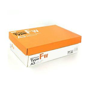 (業務用セット) 高白色コピー用紙 PPC Paper Type FW A3 1箱(500枚×3冊/1500枚) 【×2セット】 h01