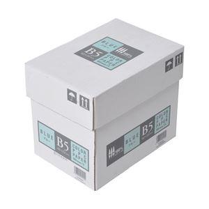 (業務用セット) APPJ カラーペーパー ブルー B5箱 500枚×5冊 型番:CPB004ハコ 【×2セット】 h01