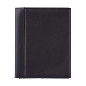 FORAY リーガルパッドホルダー レターサイズ 2ポケット・4カードポケット電卓付 ブラック