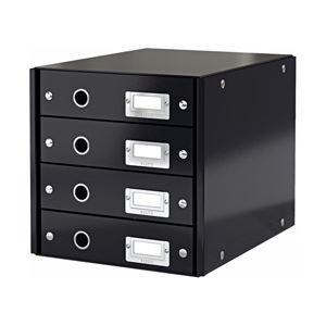 ライツ 4段ユニット A4 ブラック 型番:60490095