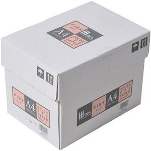 APPJ カラーペーパー ピンク A4箱 500枚×5冊 型番:CPP001ハコ