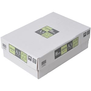 APPJ カラーペーパー グリーン A3箱 500枚×3冊 型番:CPG002ハコ