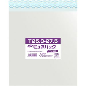 シモジマ ピュアパック色紙用 ピュアパックT25.3-27.5(色紙用) 1パック(100枚入り) 6798336