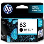 HP 純正インクカートリッジ F6U62AA(HP63) ブラック 単位:1個の画像
