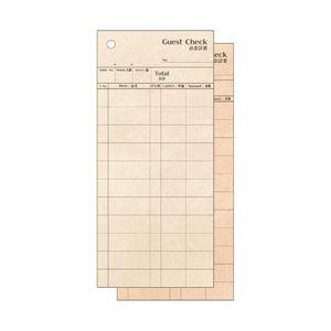 オフィスデポ オリジナル クラフト調お会計票 複写