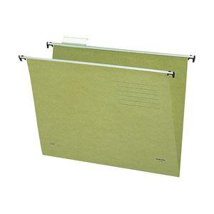 コクヨ ハンギングフォルダー B4・グリーン 1箱(40冊)