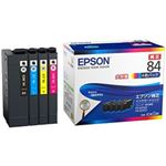 EPSON 純正インクカートリッジ 大容量4色 IC4CL84 1パック(4色)の画像