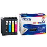 EPSON 純正インクカートリッジ 大容量4色 IC4CL86 1パック(4色)