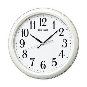 セイコークロック 電波掛け時計 ホワイト KX234W 1台