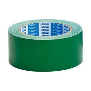 ニトムズ カラー布粘着テープSE 緑 1箱(30巻)