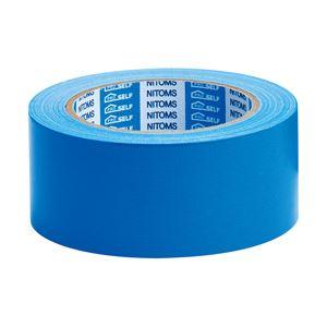 ニトムズ カラー布粘着テープSE 青 1箱(30巻)