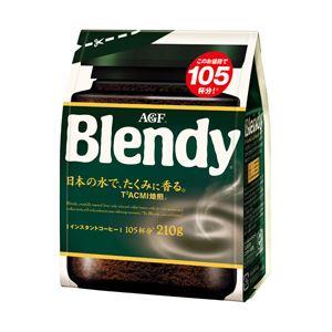 AGF ブレンディ インスタントコーヒー 詰替用 1袋(210g)