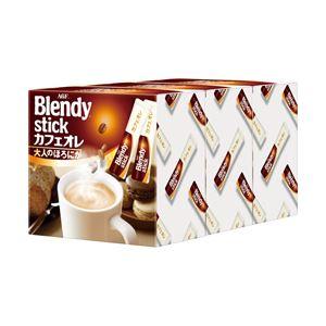 AGF ブレンディ スティックカフェオレ 大人のほろにが 1箱(10.0g×90本)