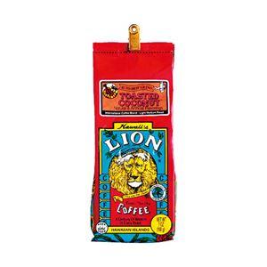 ハワイコーヒーカンパニーライオンコーヒートーステッドココナッツ1袋(198g)