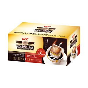 UCCゴールドスペシャルドリップコーヒーアソート1箱(25袋)