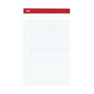 オフィスデポオリジナル リーガルサイズ リーガルパッド ホワイト 1パック(50枚×12冊)