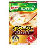 (まとめ)味の素 クノール カップスープ ポタージュ 1箱(17.6g×8食)【×10セット】