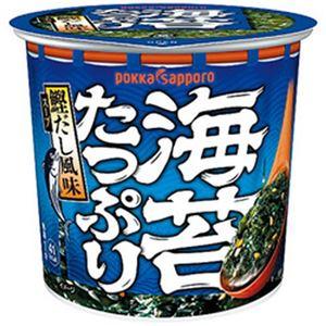 ポッカサッポロ 海苔たっぷりすうぷ カップ 1セット(11.2g×24個)
