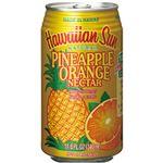 ハワイアンサン パイナップルオレンジネクター 340ml 1箱(24本)