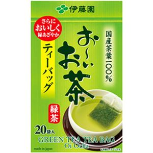 (まとめ)伊藤園 お〜いお茶 ティーバッグ 緑茶【×10セット】